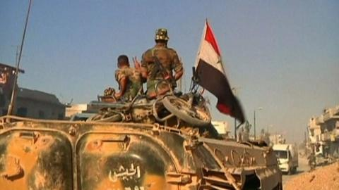 PBS NewsHour -- Underfunded Free Syrian Army faces additional enemies