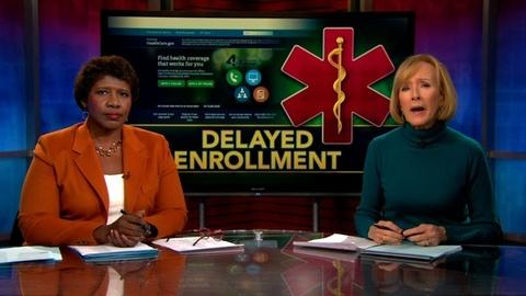 PBS NewsHour -- Health care law delays insurance for small businesses