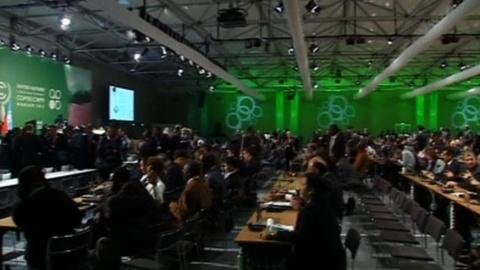 PBS NewsHour -- Warsaw conference moves towards 'new global climate regime'