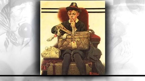 PBS NewsHour -- How Norman Rockwell held a mirror up to American ambitions