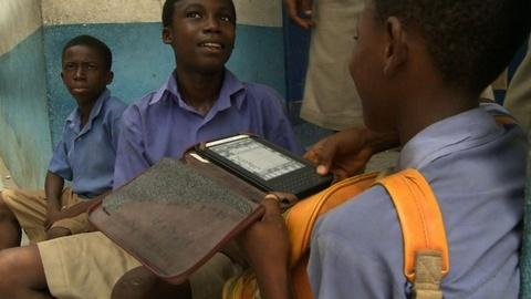 PBS NewsHour -- Worldreader fights global illiteracy with e-readers