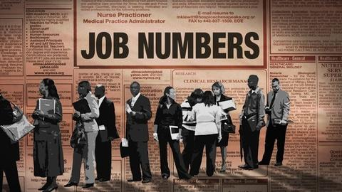 PBS NewsHour -- Jobs report doesn't improve outlook for long-term jobless