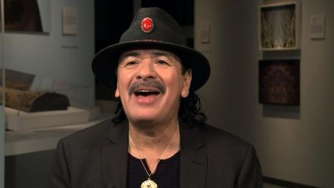 PBS NewsHour -- Santana on the charisma that inspired his rock career