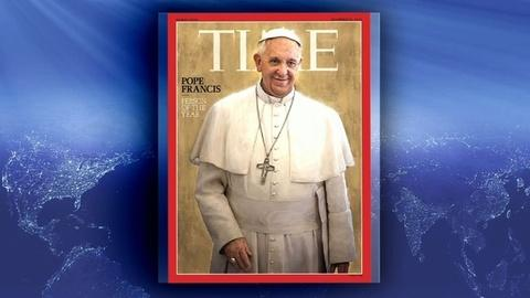 PBS NewsHour -- Pope Francis recognized as TIME's 'Person of the Year'