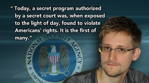 PBS NewsHour -- Judge rules NSA's phone surveillance likely unconstitutional