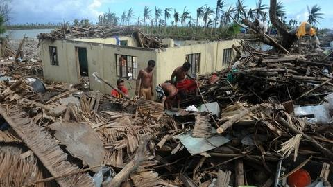 PBS NewsHour -- Philippines disaster inspires 'typhoon' of aid activity