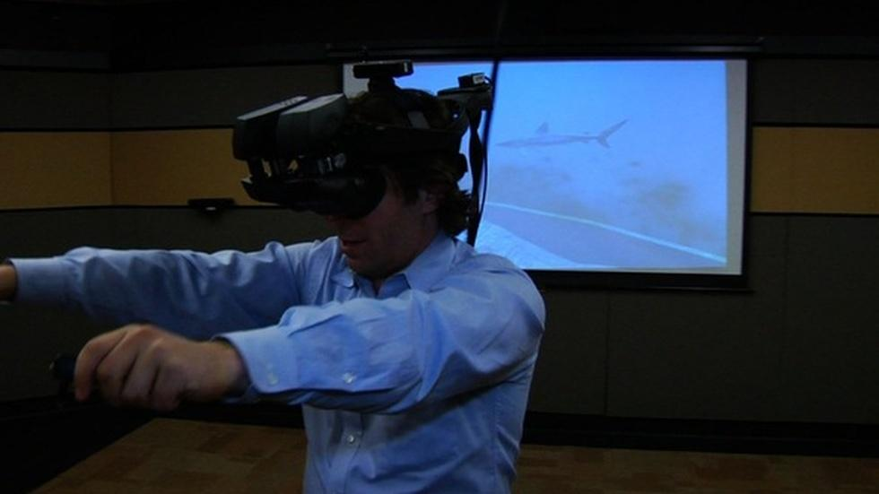 Tricking the brain with transformative virtual reality image