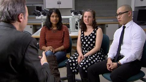 PBS NewsHour -- Three medical students nurture the soul through poetry