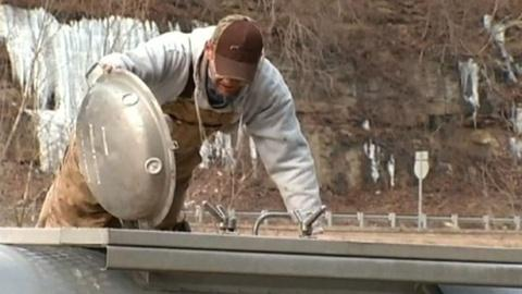 PBS NewsHour -- Chemical spill causes water emergency in W.Va.