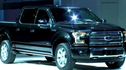PBS NewsHour -- Big trucks gain greater efficiency for Detroit auto show