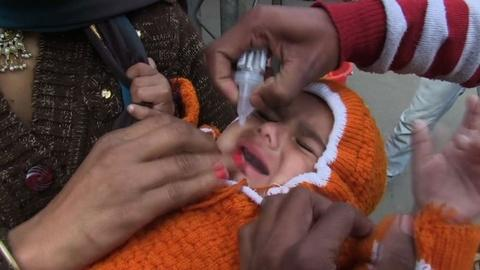 PBS NewsHour -- India marks three years without polio, but challenges remain