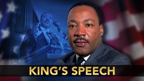 PBS NewsHour -- Rediscovering a Martin Luther King Jr. speech
