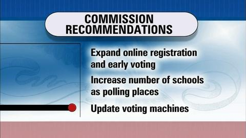 PBS NewsHour -- Reforming the voting process to improve access