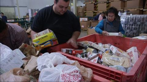 PBS NewsHour -- Orange County's campaign to waste less to feed hungry kids