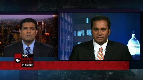 PBS NewsHour -- Global markets suffer major drop