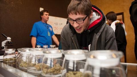 PBS NewsHour -- Legal marijuana businesses seek banking solutions