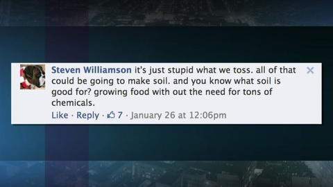 PBS NewsHour -- Viewers respond to our report on food waste