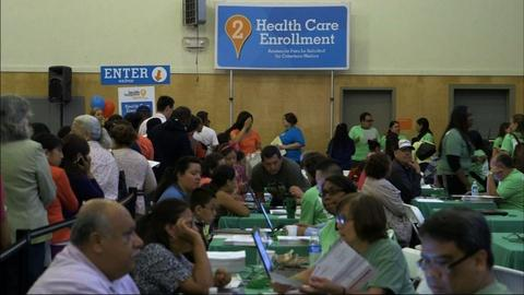 PBS NewsHour -- Calif. Latinos lag in health care enrollment