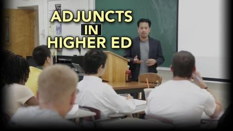 PBS NewsHour -- Why adjunct professors are struggling to make ends meet