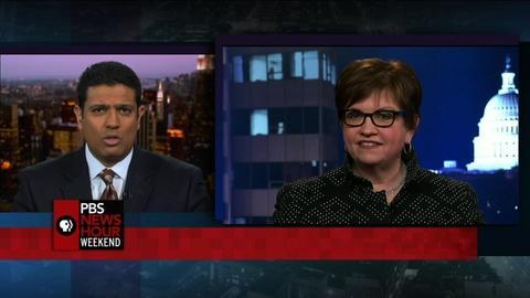 PBS NewsHour -- Ten big drug companies unite to study major diseases