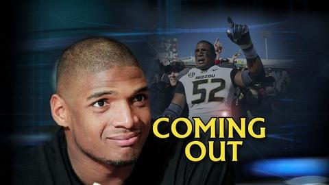 PBS NewsHour -- Does NFL prospect's coming out reflect changing attitudes?