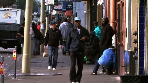 PBS NewsHour -- San Francisco neighborhood gets left behind in boom times