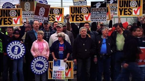 PBS NewsHour -- VW union vote spurs backlash by Tenn. politicians