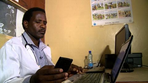 PBS NewsHour -- Mobile phone usage explodes in Africa, spurring innovation