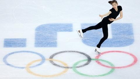 PBS NewsHour -- Yuna Kim hopes to land second Olympic gold medal