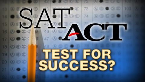 PBS NewsHour -- Challenging the value of high SAT scores