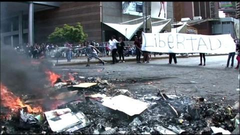 PBS NewsHour -- Venezuela unrest could be 'building block' of change