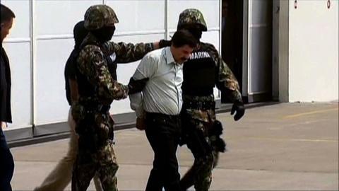 PBS NewsHour -- Arrest of Guzman, 'face of Mexican impunity,' sends message