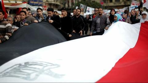 PBS NewsHour -- Film captures optimism, endurance of Egypt's revolution