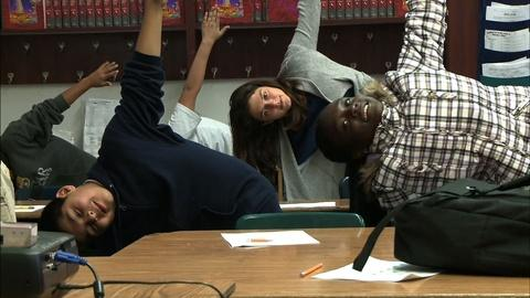 PBS NewsHour -- Low-income students combat stress with mindfulness