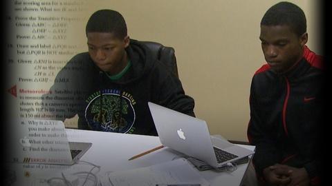 PBS NewsHour -- Seeking tech 'genius' among disadvantaged teens