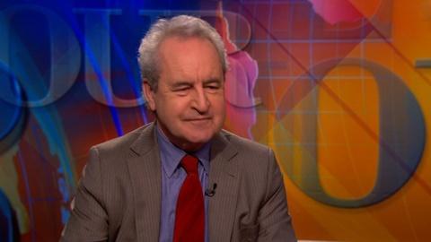 PBS NewsHour -- John Banville on 'The Black-Eyed Blonde'