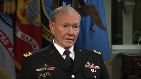 PBS NewsHour -- Dempsey: Military deserves 'scrutiny' on sexual assaults