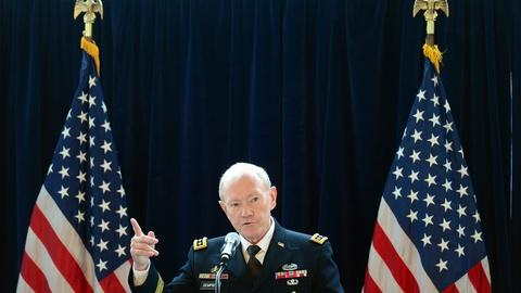 PBS NewsHour -- Gen. Dempsey on Ukraine, military sex abuse and budget cuts