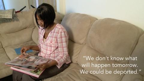 PBS NewsHour -- Coumba Fofana worries her family could be deported