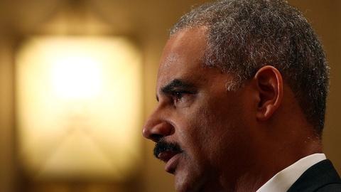 PBS NewsHour -- Holder backs proposal to reduce drug sentences