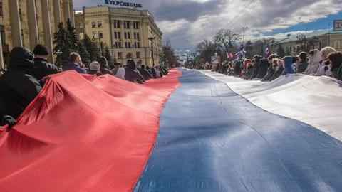 PBS NewsHour -- Tensions Rise in Eastern Ukraine After a Series of Rallies