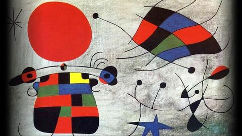 PBS NewsHour -- Late works by Miro play with metamorphosis of found objects