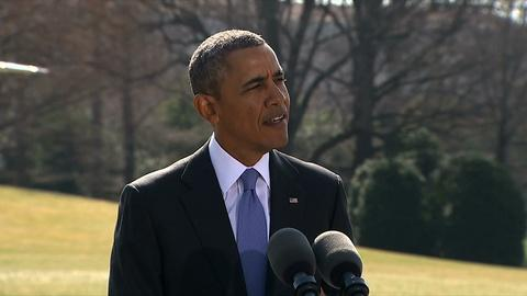 PBS NewsHour -- Obama announces more sanctions on Russian officials, 1 bank