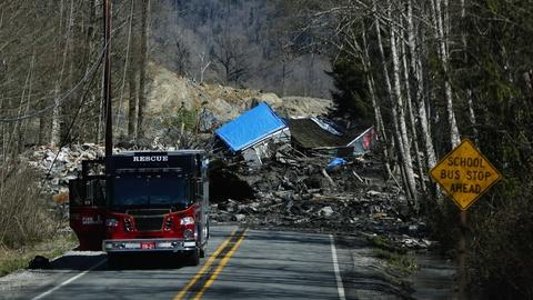 PBS NewsHour -- Washington mudslide is 'nightmare scenario' for rescue team