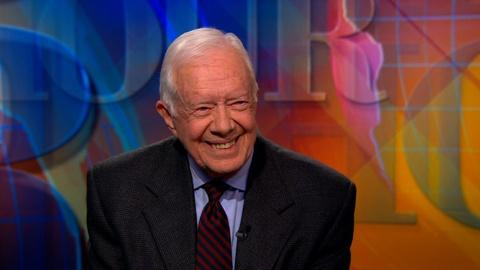 PBS NewsHour -- Jimmy Carter on Israel, Ukraine and violence against women