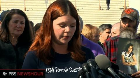 PBS NewsHour -- GM victims' families speak ahead of hearing