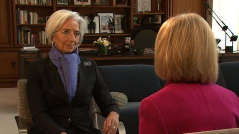 PBS NewsHour -- IMF chief Lagarde on the hurdles facing economic growth