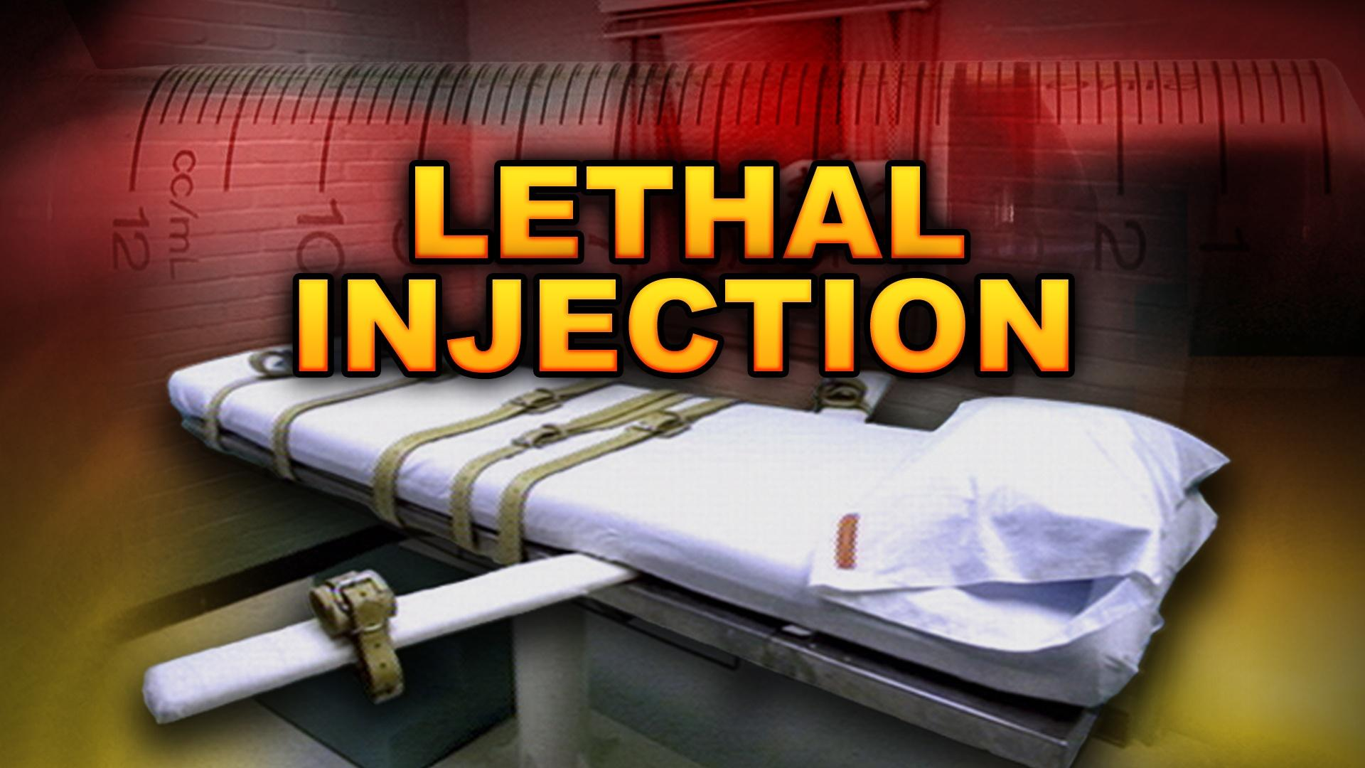 """term papers lethal injection According to the paper, a minute into the lethal injection procedure, after the drug midazolam was injected into him, the prisoner lifted up his head, """"looked around, moved his toes and legs."""