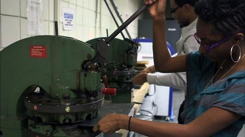 PBS NewsHour -- Why six years of high school might pay off in the workforce