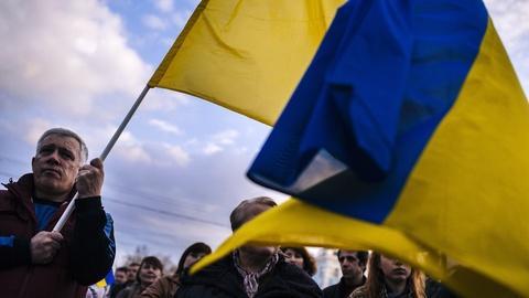 PBS NewsHour -- In Ukraine, will a propaganda war turn into civil war?